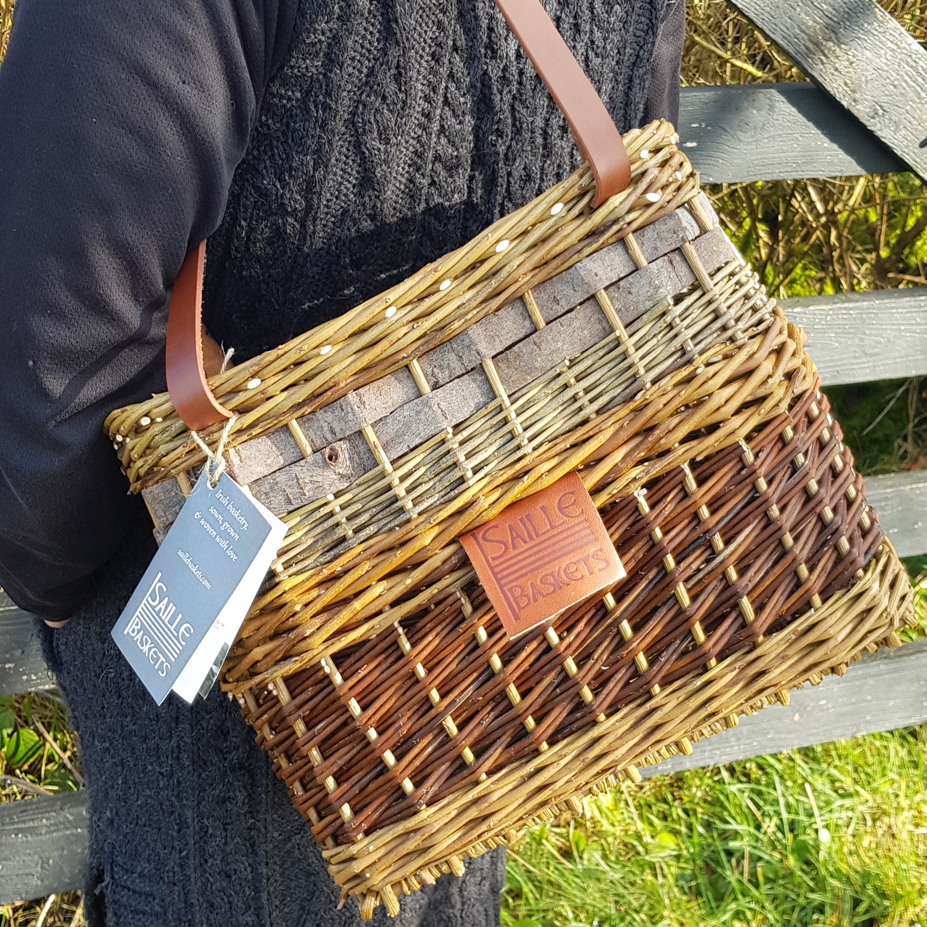 Aisling Tote, by Saille Baskets