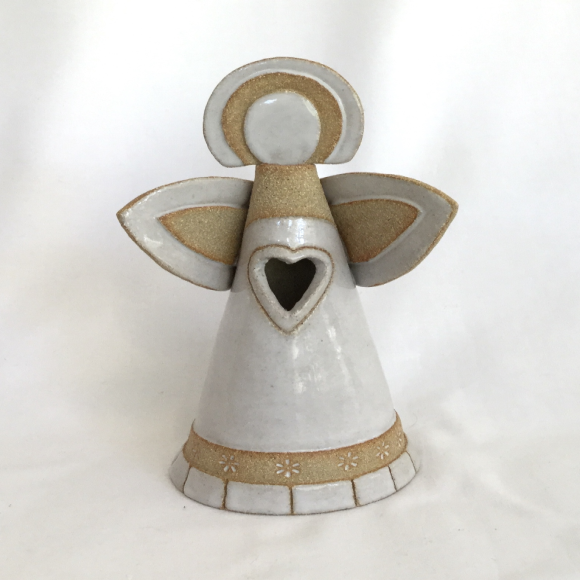 White Angel tealight