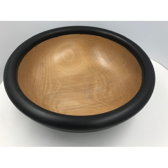 Ebonised Bowl, Fred O'Mahony