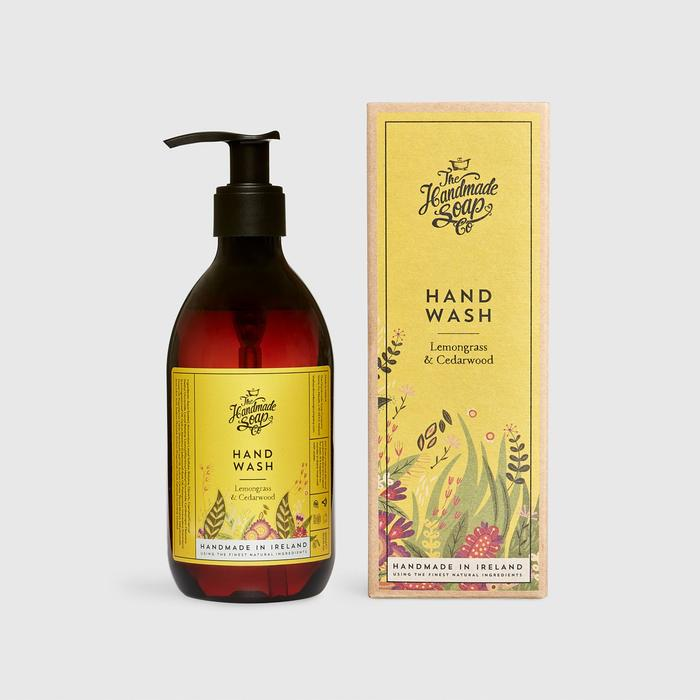 Hand Wash | Lemongrass  & Cedar-wood | Irish Handmade Soap Company |