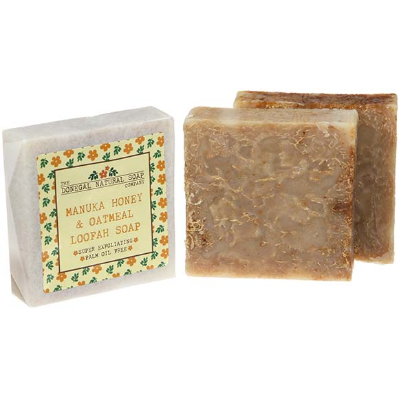 Donegal Natural Soap Co., Manuka Honey & Oatmeal Loofah Soap