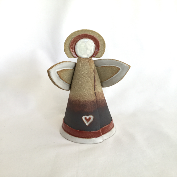 Red Ceramic Angel