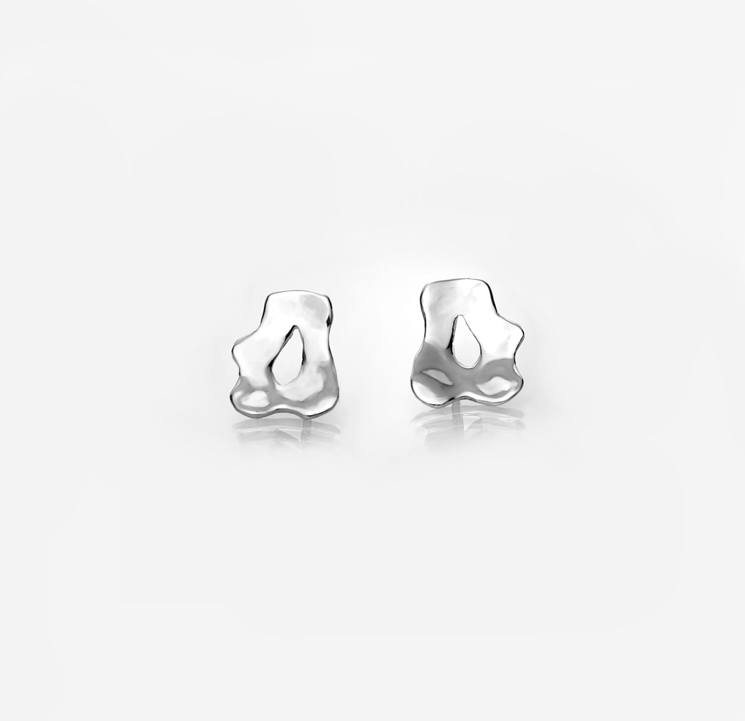 Reflections Earring, Sterling Silver