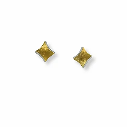 Golden Twist small stud earrings | Seamus Gill