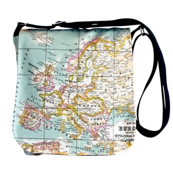 Map Messenger Bag