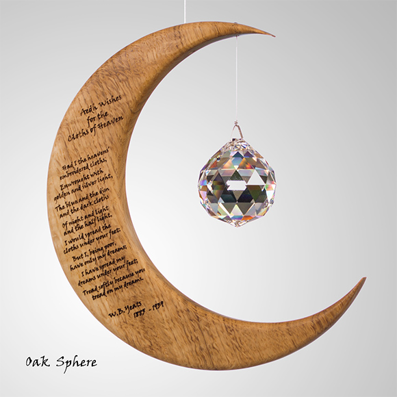 Large Sun Catcher, Yeats Poetry